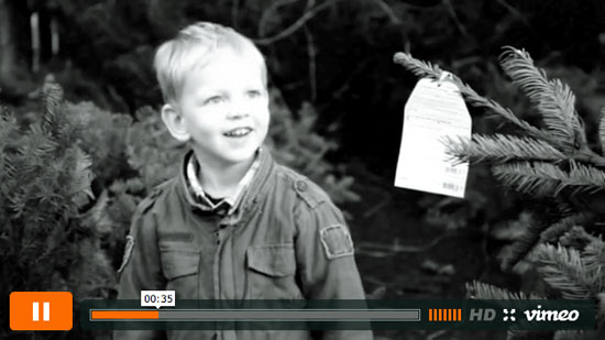 Christmas Tree 2012 Video