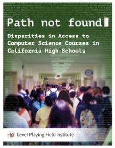 Path Not Found: Disparities in Computer Science Course Access in California High Schools