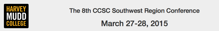 CCSC Southwest Region Conference