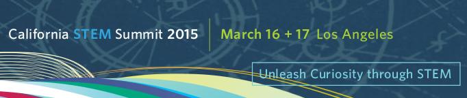 California STEM Summit 2015