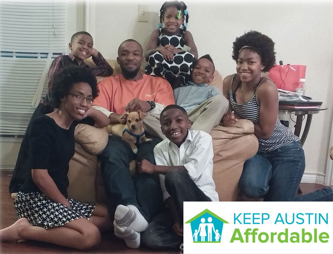 Thomas family shares its story about overcoming homelessness