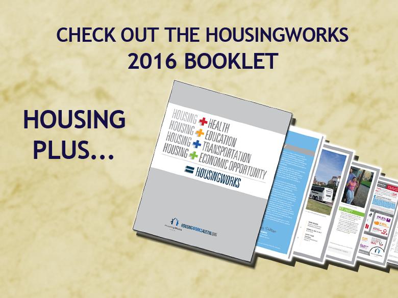 HOUSING PLUS BOOKLET