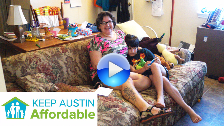 Mother and son overcome homelessness thanks to Saint Louise House
