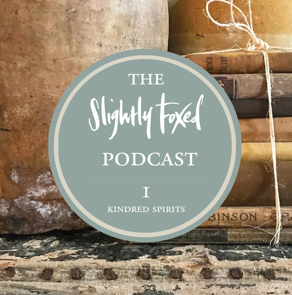 The Slightly Foxed Podcast: Episode 1, Kindred Spirit