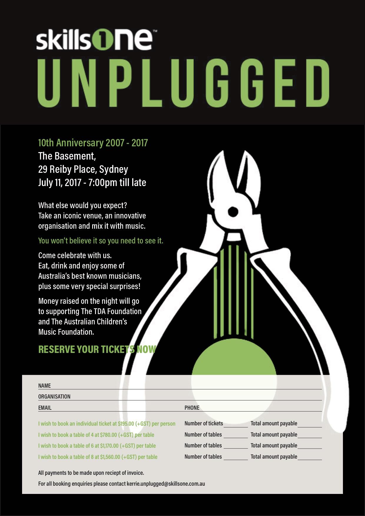 Skillsone Unplugged