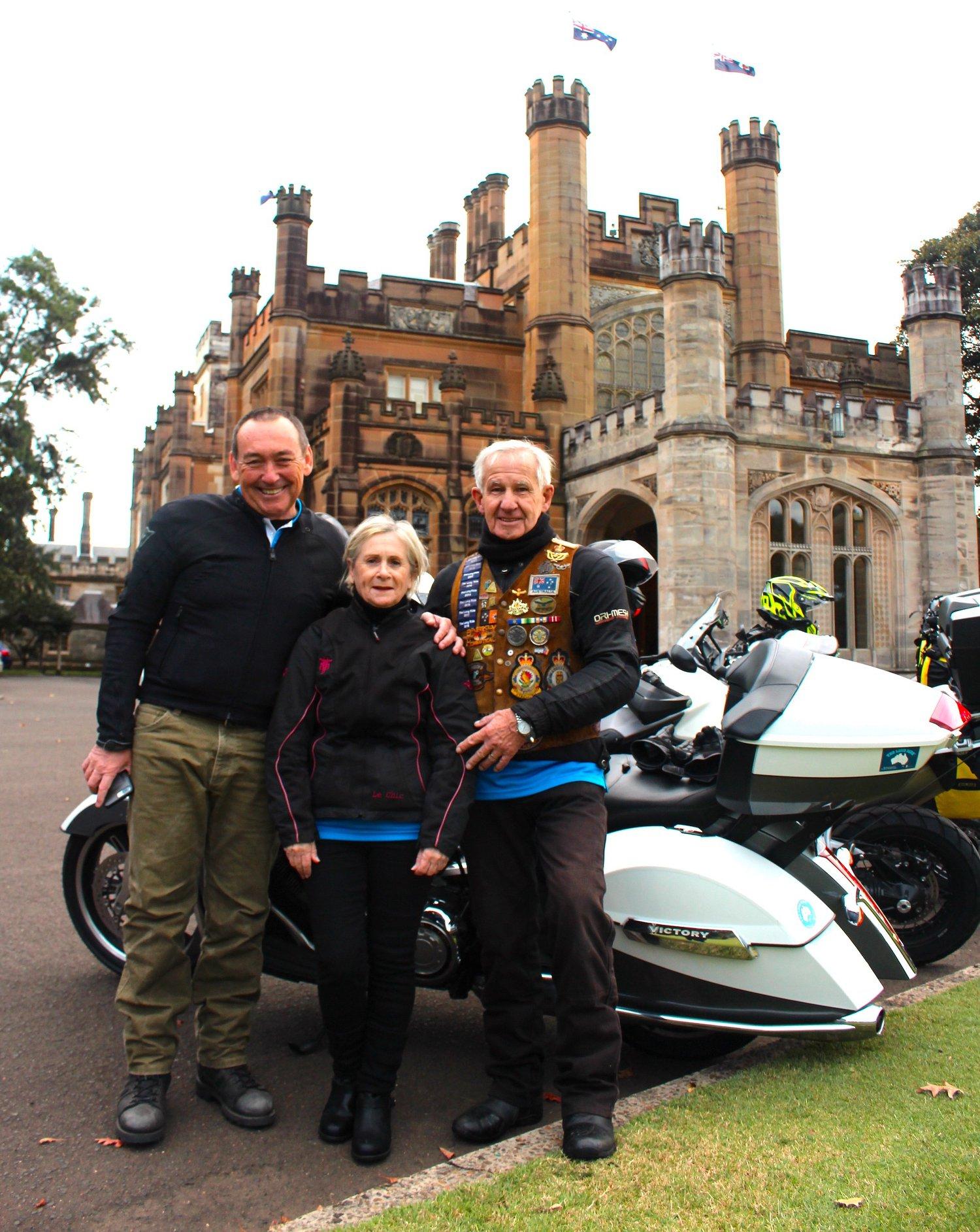 Long Ride Creators Chris & Gail Dunn