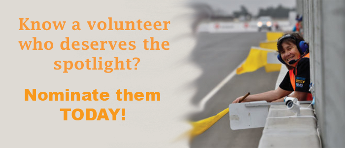 Know a volunteer who deserves the spotlight for all their hard work? Nominate them today!