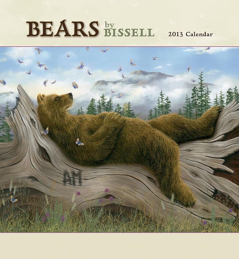 Robert Bissell - Bears Calendar 2013