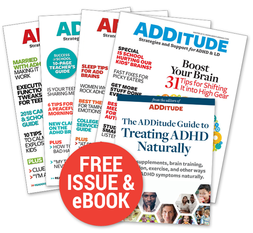 Support ADDitude by subscribing today