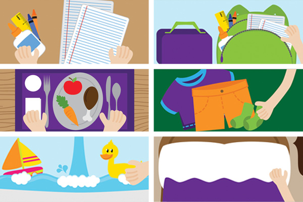 The Importance of a Daily Schedule for Kids with ADHD: Sample Routines and More