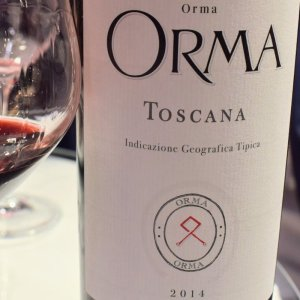 Orma 2015 - ein großartiger Toscana Rosso...