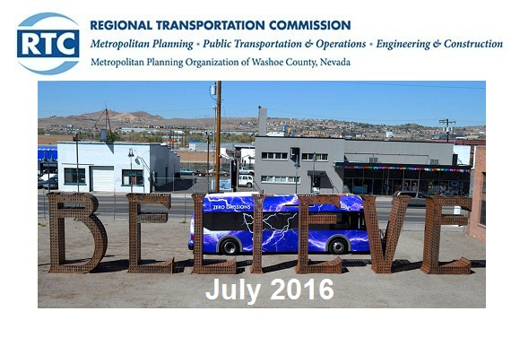 Newsletter Header with Bus Photo