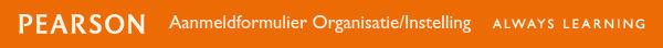 Aanmeldformulier Organisatie/Instelling