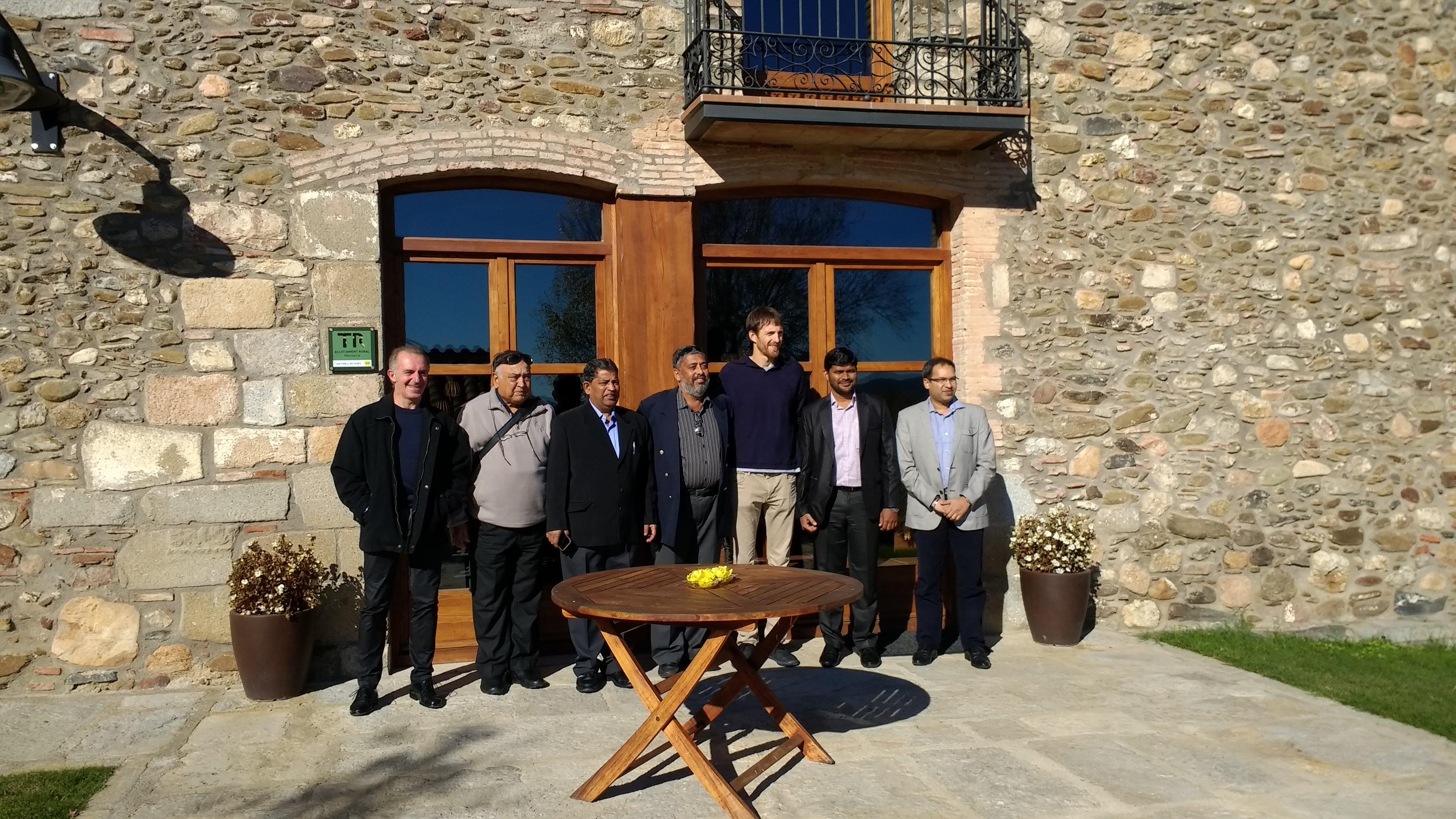 Visita delegació govern de GOA