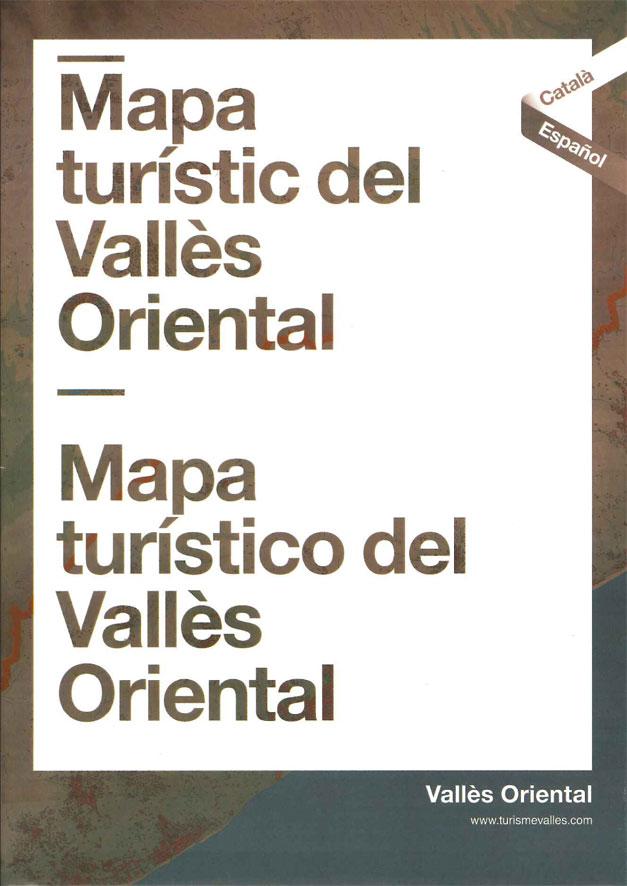 Mapa turístic del Vallès Oriental