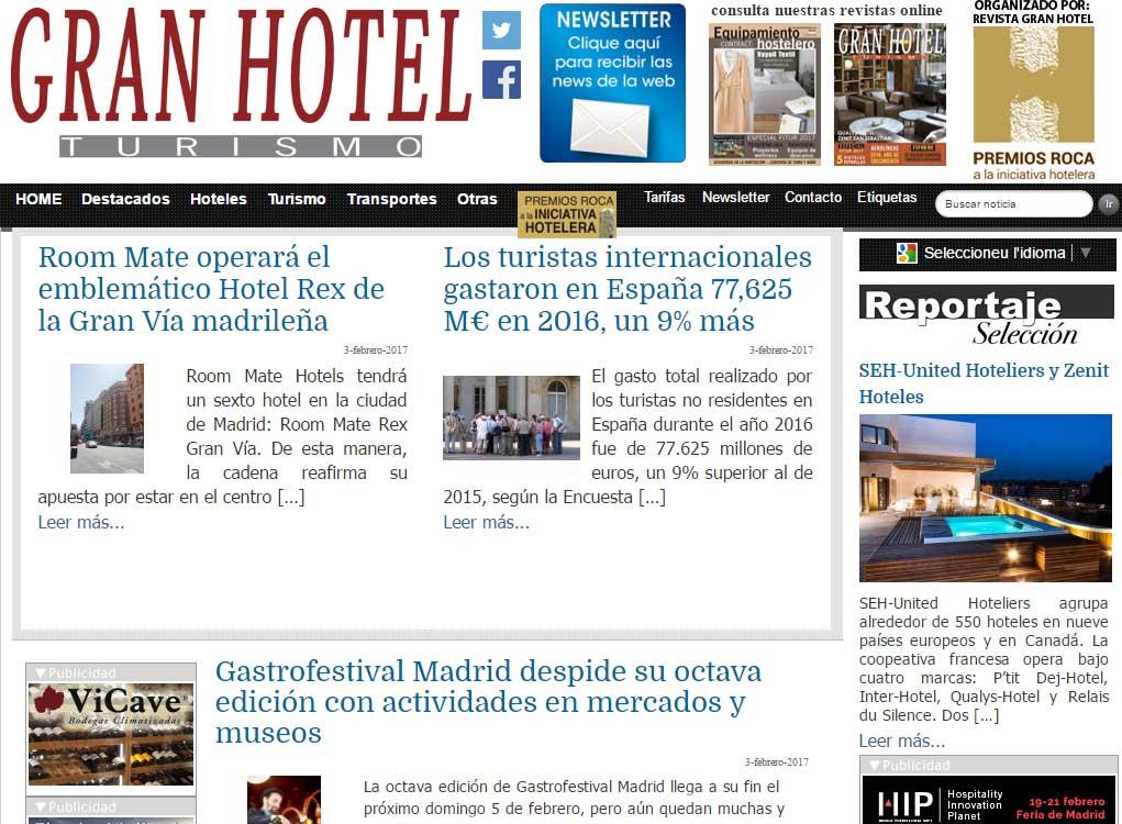 Revista Gran Hotel Turismo