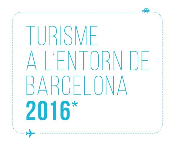 Infografia Turisme a l'entorn de Barcelona 2016