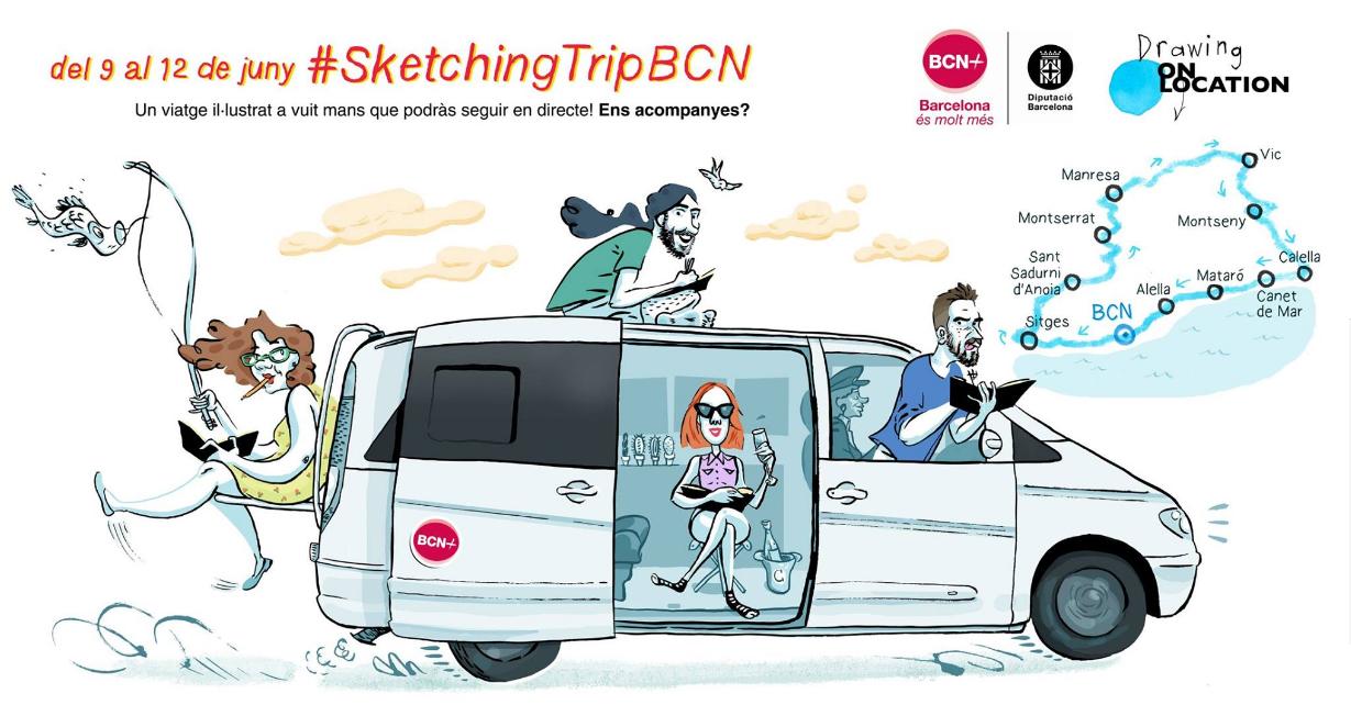 Sketch Trip - Barcelona és molt més!