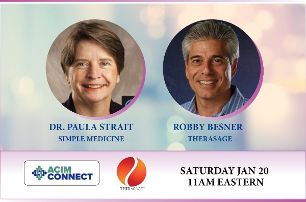 This Saturday, January 20th, at 11:00 am EST, our dear friend Dr. Lee Cowden will be hosting the inaugural webinar of the ACIM. In it, our own Robby Besner will be speaking with Dr. Paula Strait on the benefits of infrared technology for neuro-regeneration.