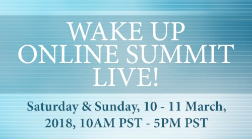 """Don't miss Robbythis Sundayat7PM EST/4PM PST speaking live on """"The Wake Up Summit,"""" designed to teach you how to live a healthy and vibrant life. The Summit startson Saturday, with an impressive line-up of 20 health and wellness experts, all sharing their experiences and secrets to living a healthy, vibrant life!"""