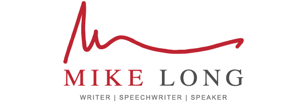 Mike Long | Writer, Speechwriter, and Speaker Logo
