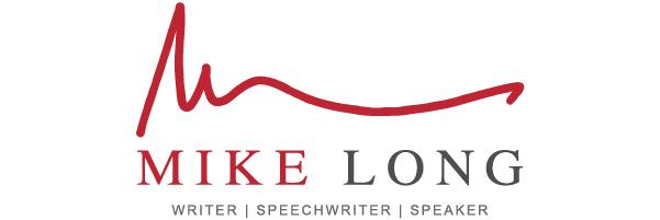 Mike Long | Writer, Speechwriter, and Speaker Logo