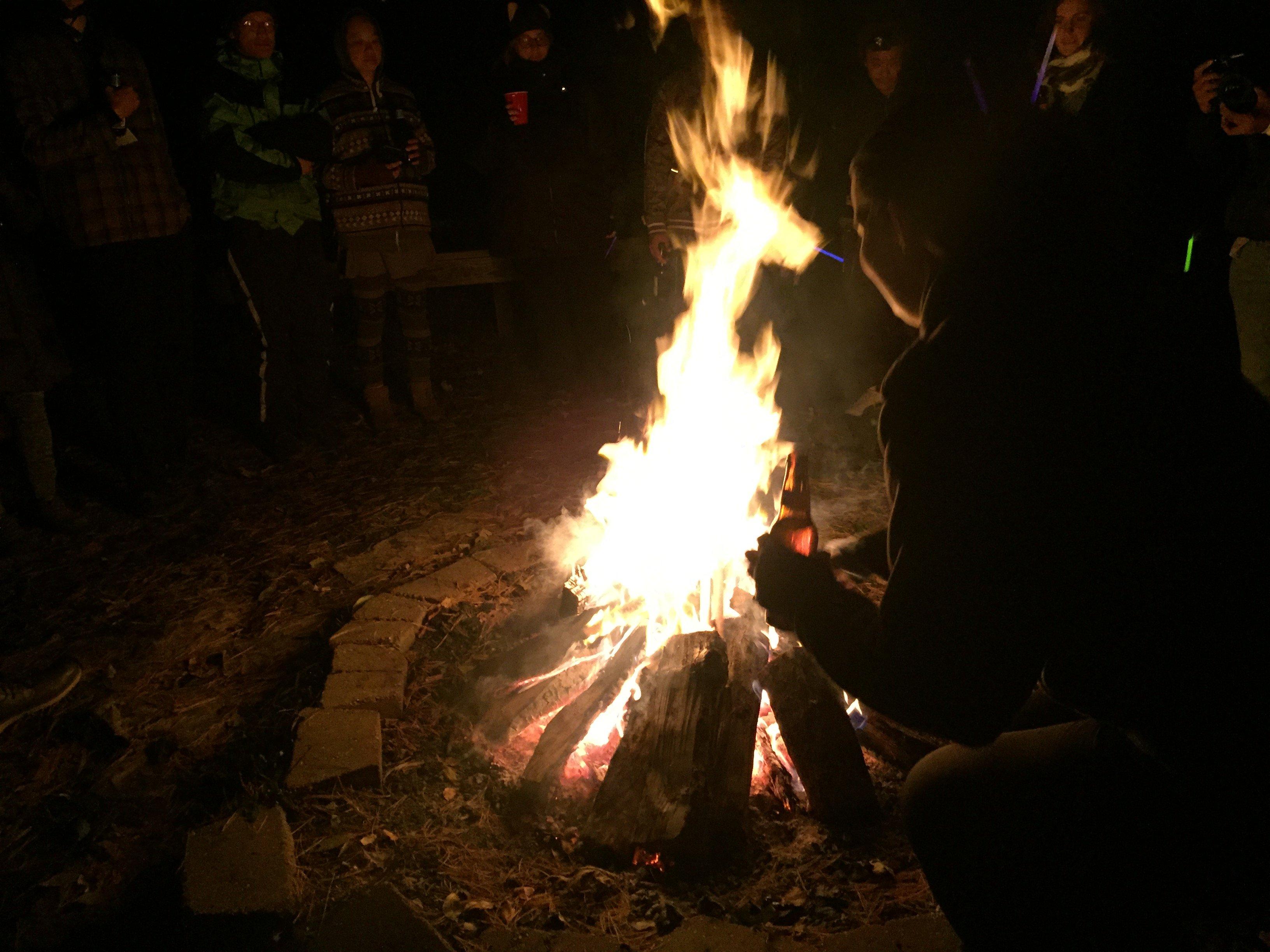 Bachi burning