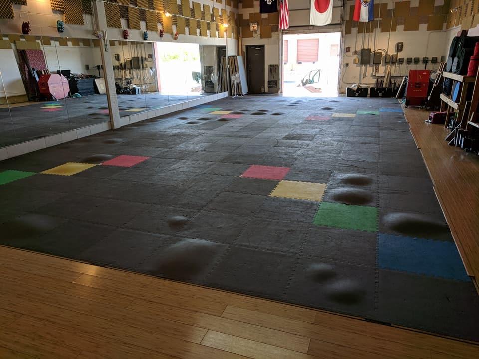 Saying goodbye to the old floor
