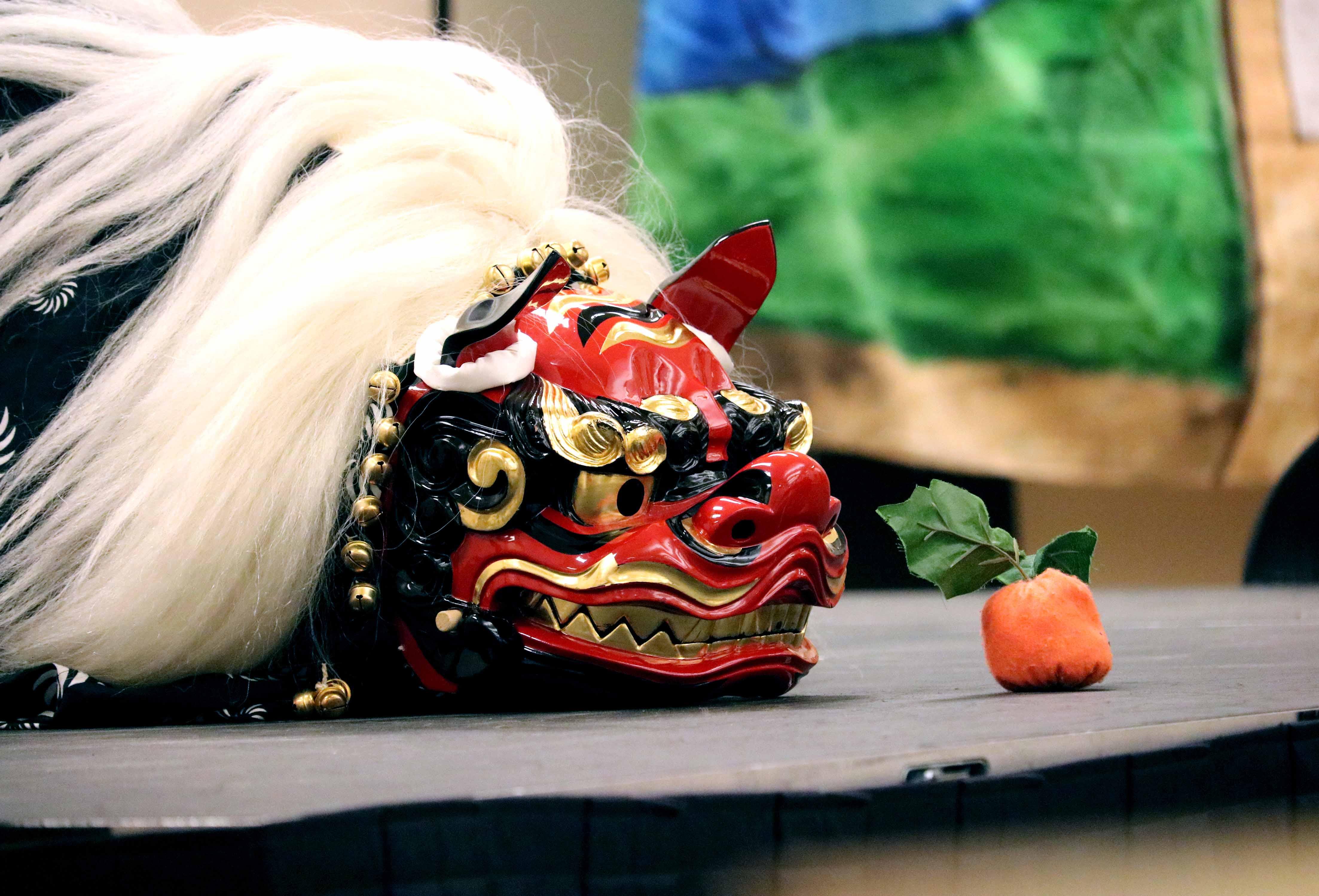 Mikoshi performance at the Missouri History Museum