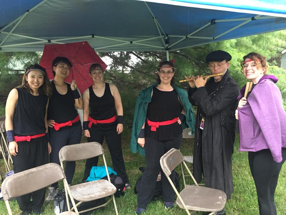 A wet start to the Springfield Japanese Fall Festival