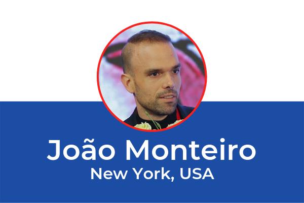João Monteiro (New York, USA) in an ESOT2019 invited speaker