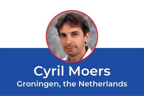 ESOT2019 Invited Speaker Cyril Moers (Groningen, the Netherlands)