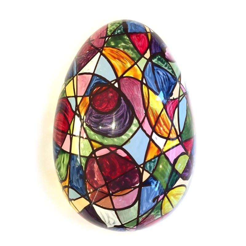 Abstract Easter Egg