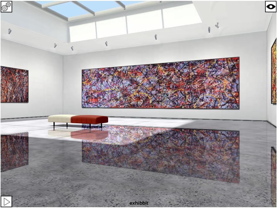 Julian Raven exhibition in the Exhibbit Atrium Gallery