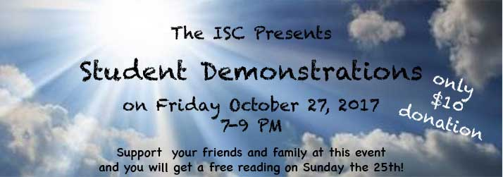 Student Demonstrations on Friday Oct. 27, 2017 7-9pm