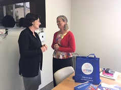 Lea McInerney and Olivia Rundle, Senior Lecturer Law Faculty, UTAS