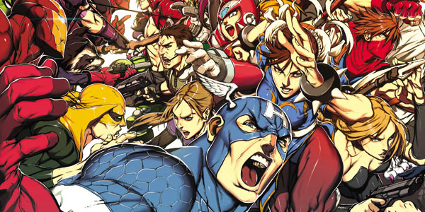 Announcing Marvel vs. Capcom: Official Complete Works! Excerpt from Ltd. Ed. HC