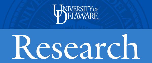 University of Delaware Research