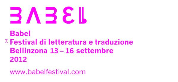 Babel 2012, 13-16 settembre