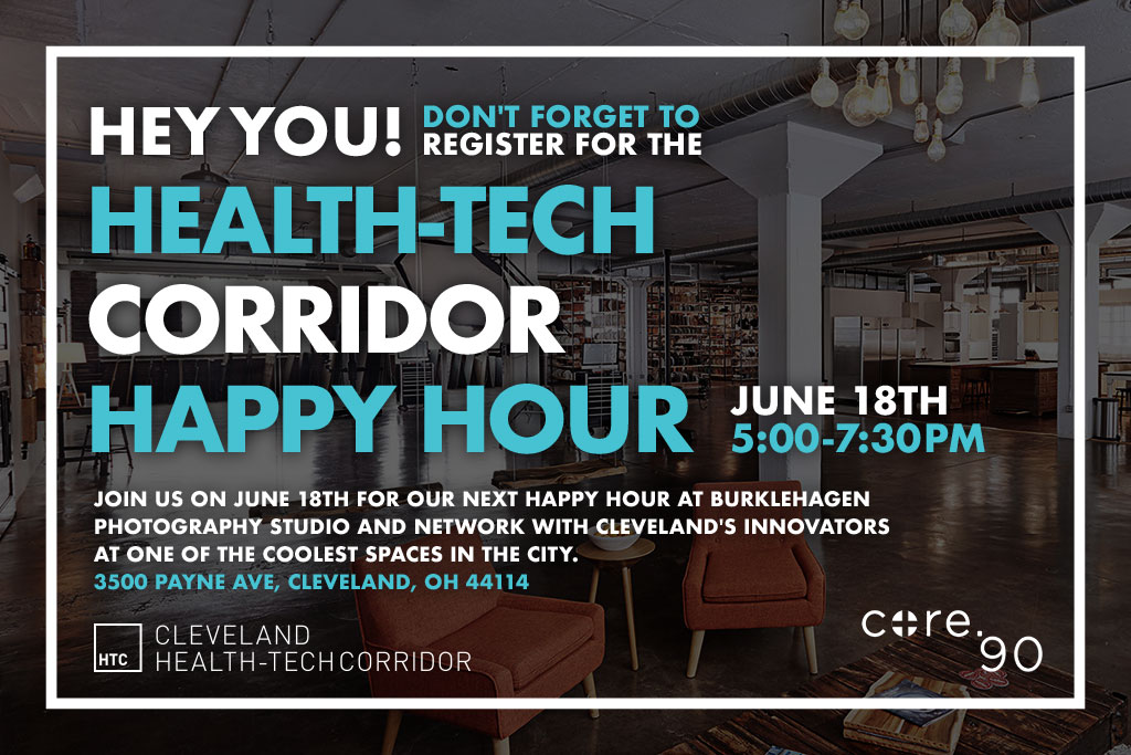 Join us on June 18th for our next happy hour at BurkleHagen Photography Studio.