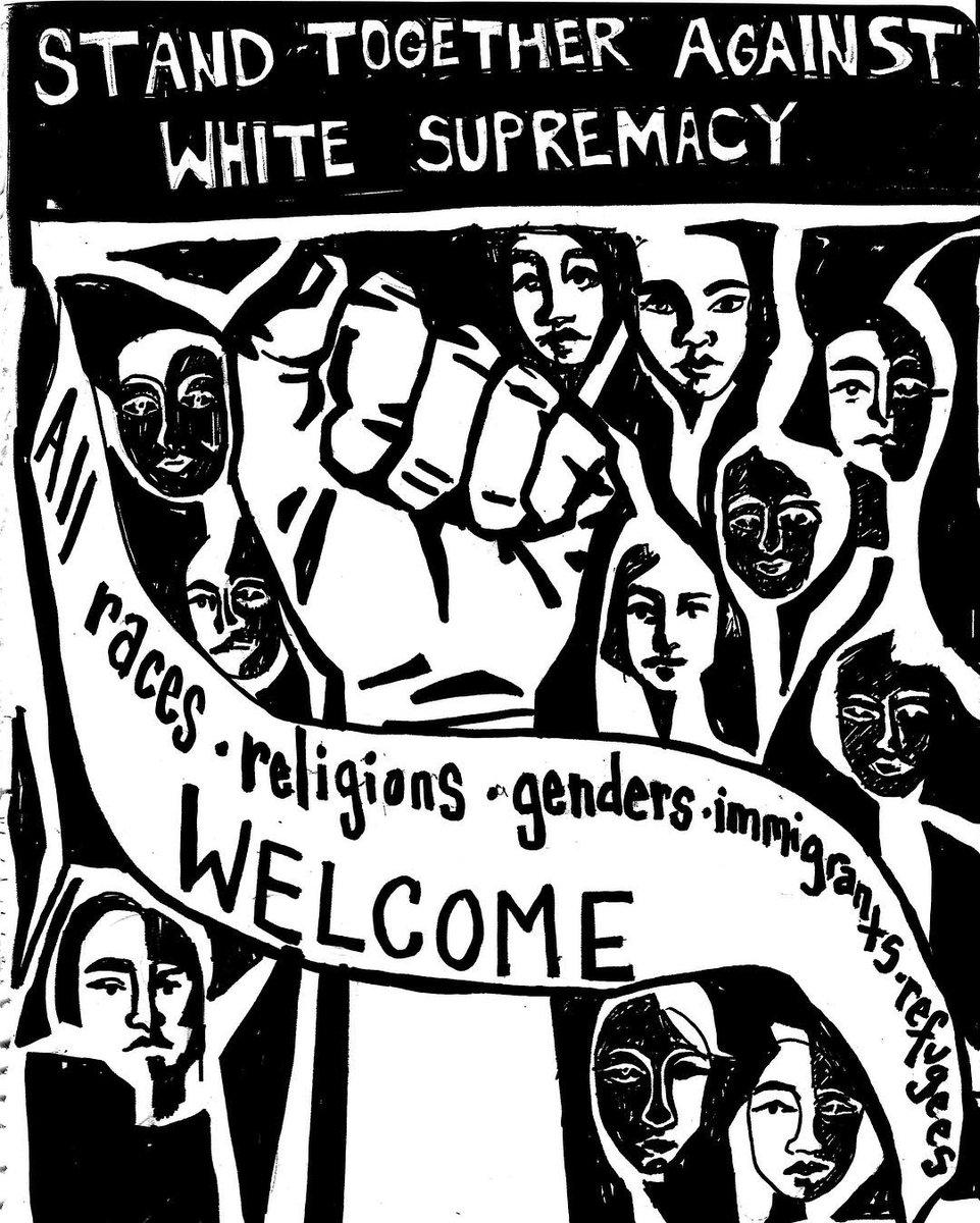 USA Charlottesville, white supremacists, and NDWA response