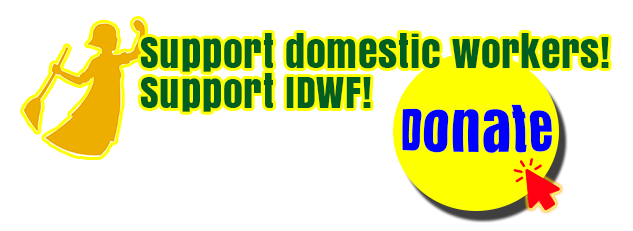 Support Domestic Workers! Support IDWF!