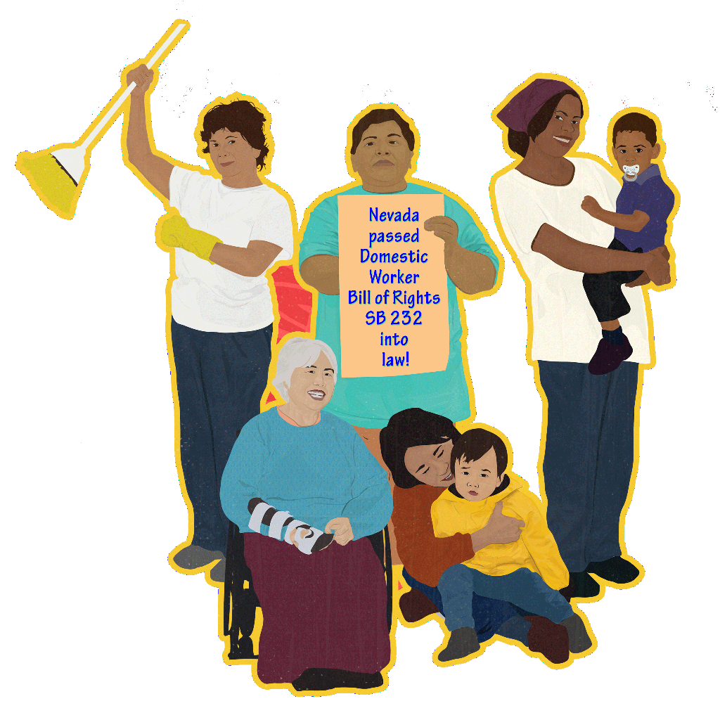 USA Nevada becomes the 8th State to pass a Domestic Worker Bill of Rights!