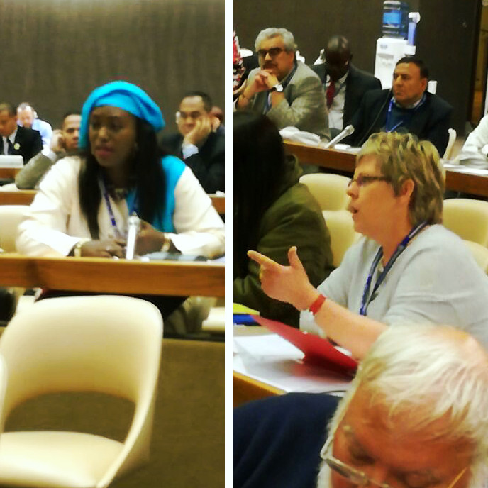 IDWF at the ILO