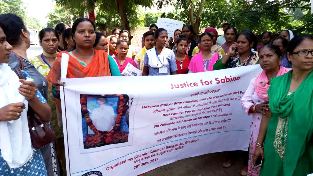 Justicia para Sabina