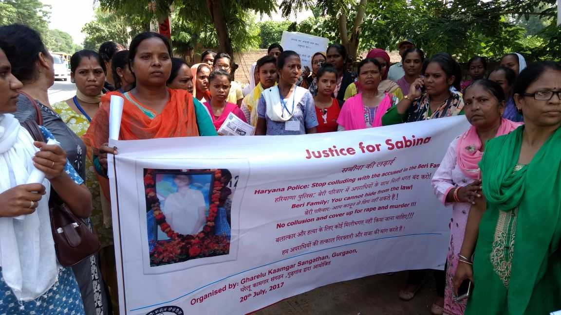 Justice for Sabina