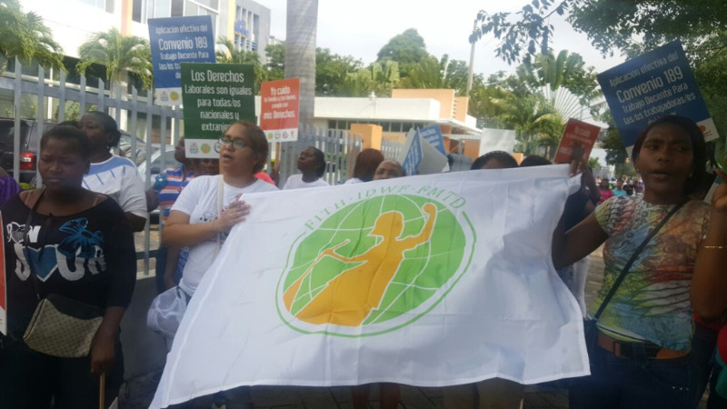 Dominican Republic Campaigning for implementation of C189