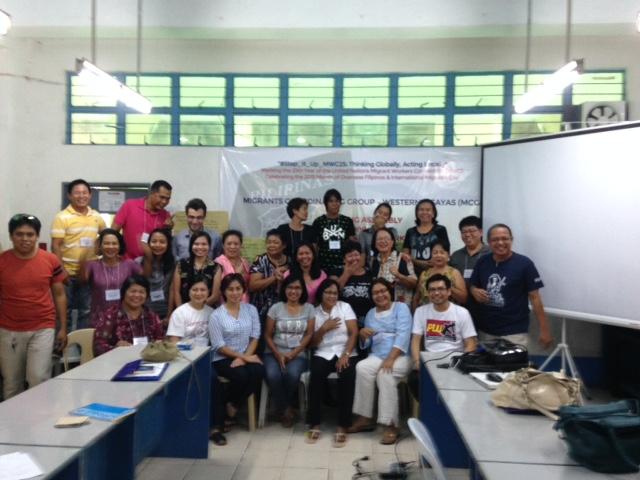MCG (Migrants Coordinating Group - Western Visayas)