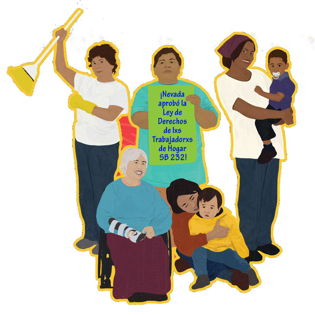 iNevada se convierte el octavo estado en pasar una Carta de Derechos para las y los trabajadores de hogar!