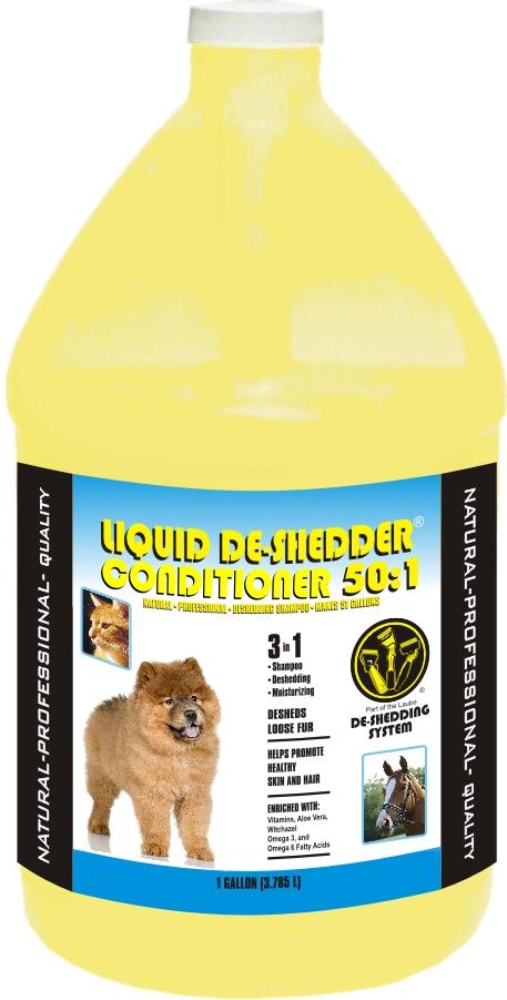 Liquid De-shedder Conditioner Gallon